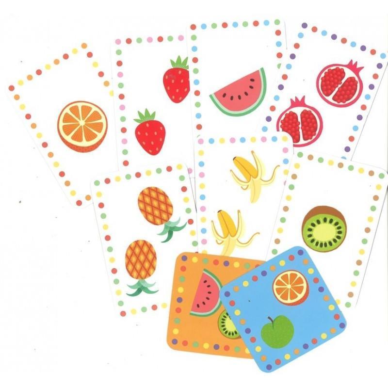 Smoothie gioco di carte Djeco