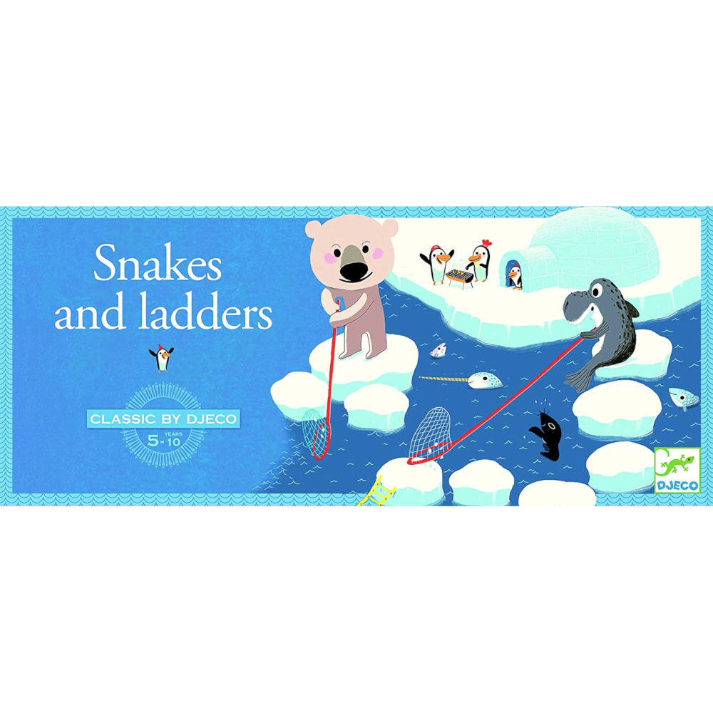 Snakes and Ladders Classic Djeco