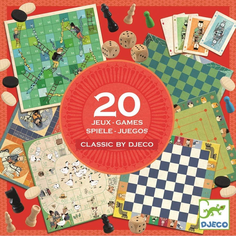 20 Giochi Classici Djeco