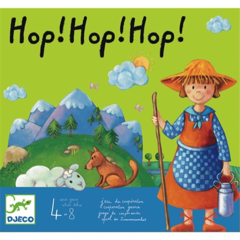 Hop! Hop! Hop! Cooperativo Djeco