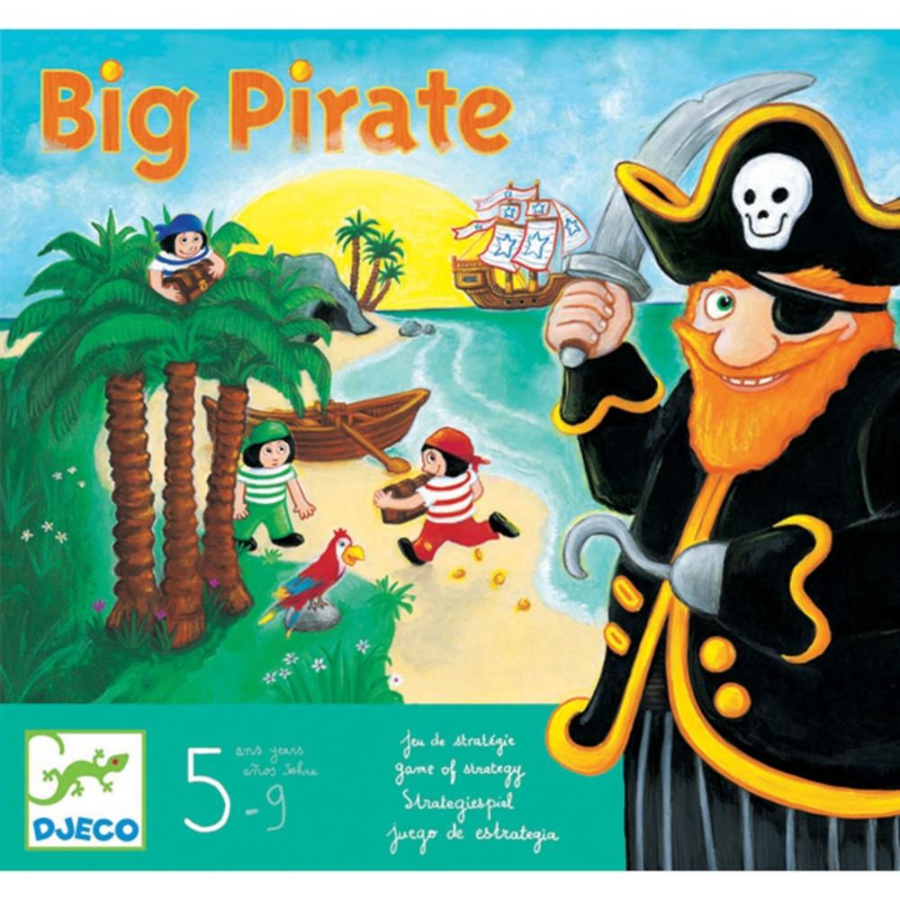 Big Pirate Gioco da Tavolo Djeco