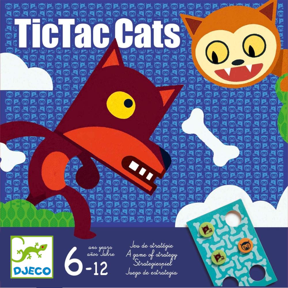 TicTacCats Gioco da tavolo Djeco