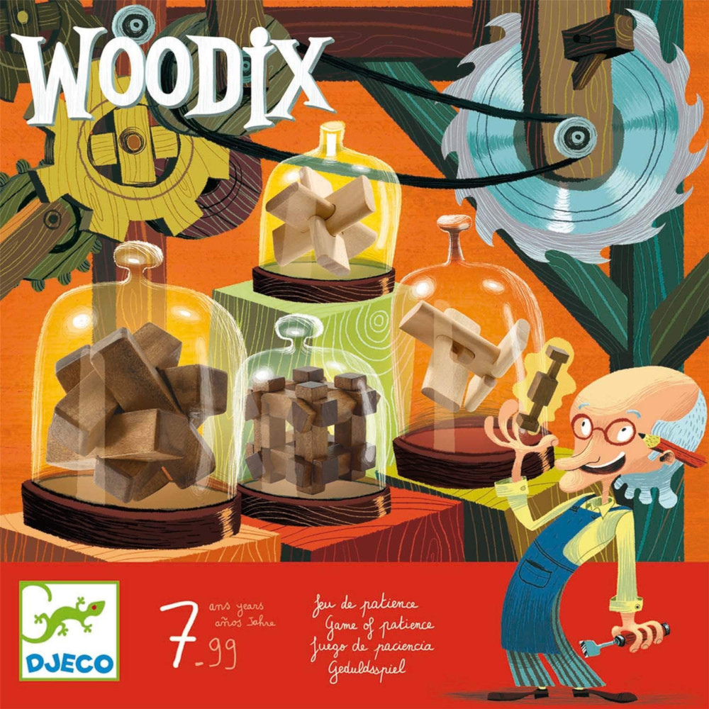 Woodix Rompicapi di Legno Djeco