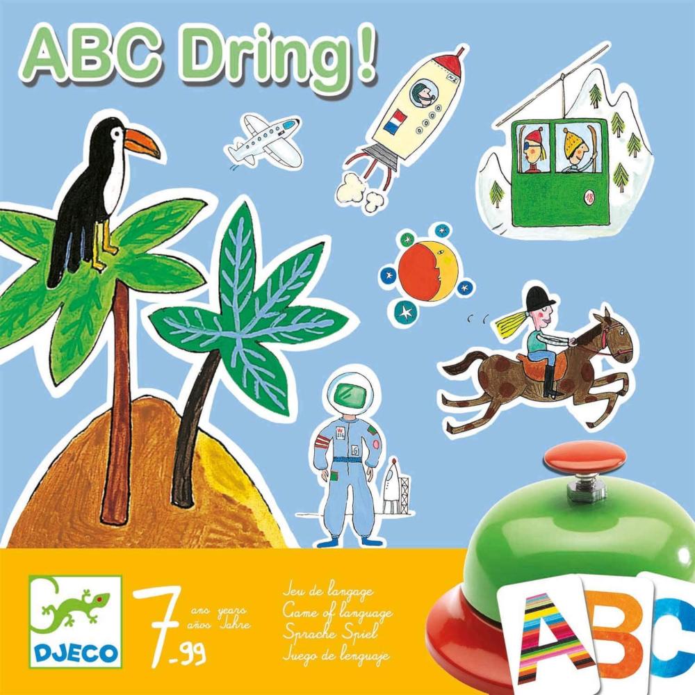 ABC Dring Gioco con le Parole Djeco