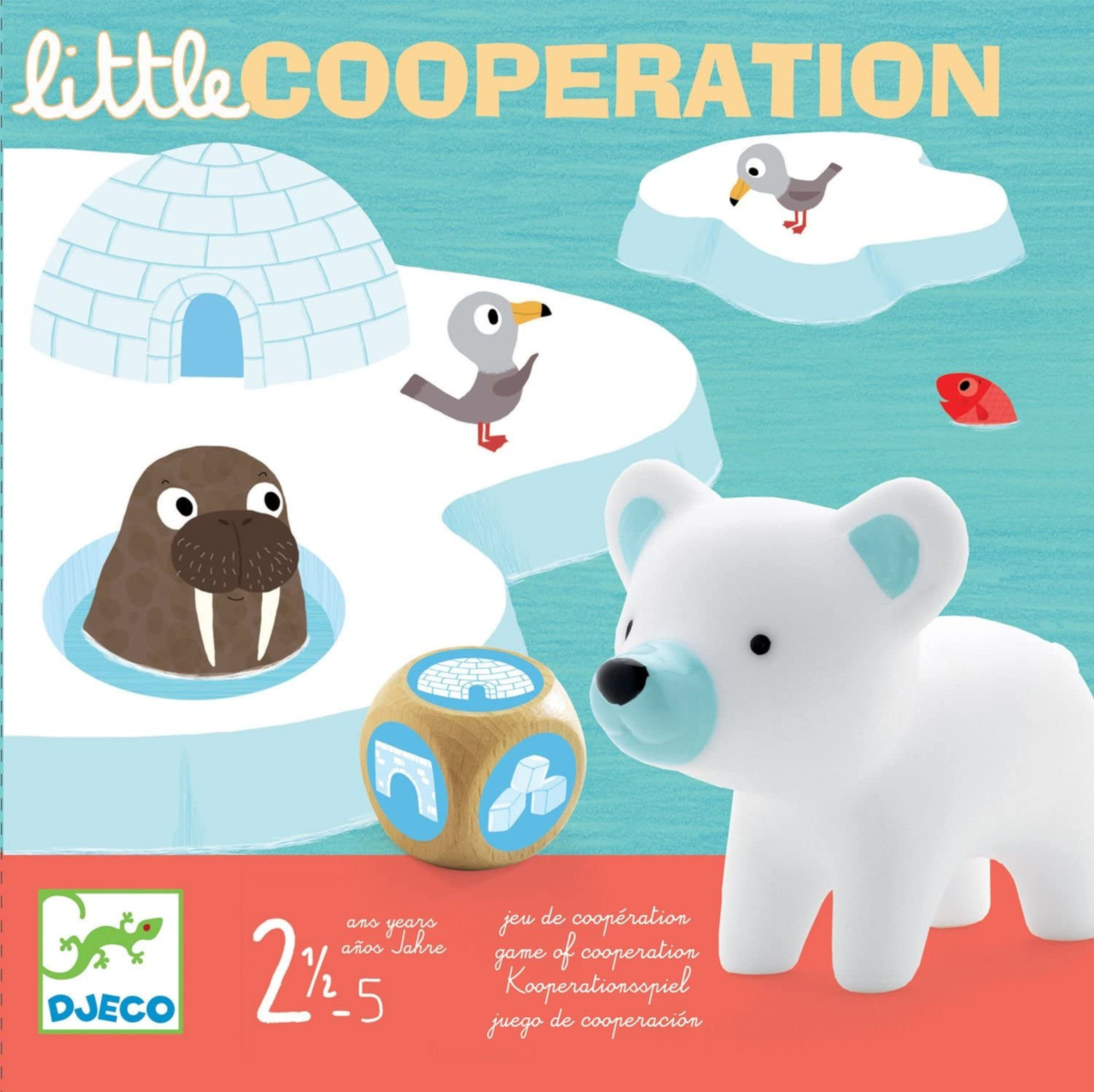Little Cooperation Primo Gioco Società Djeco