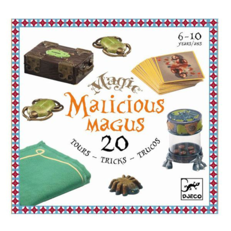 Malicious Magus 20 Trucchi di Magia Djeco