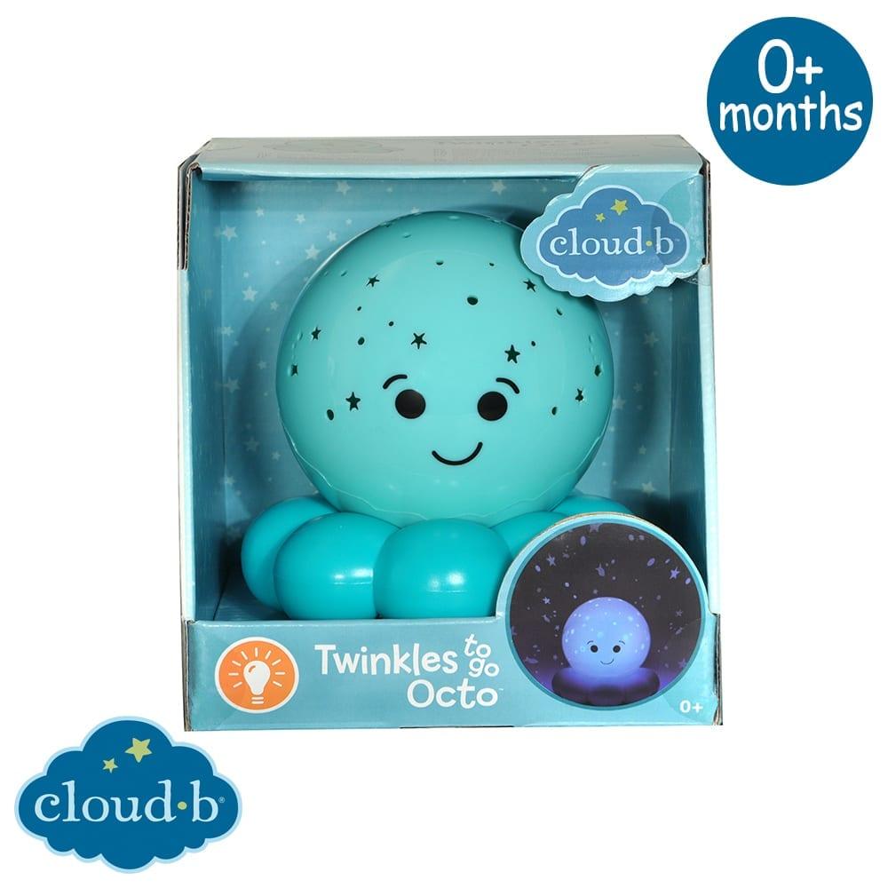 Proiettore Stelle Twinkles To Go Octo Blue Cloud B