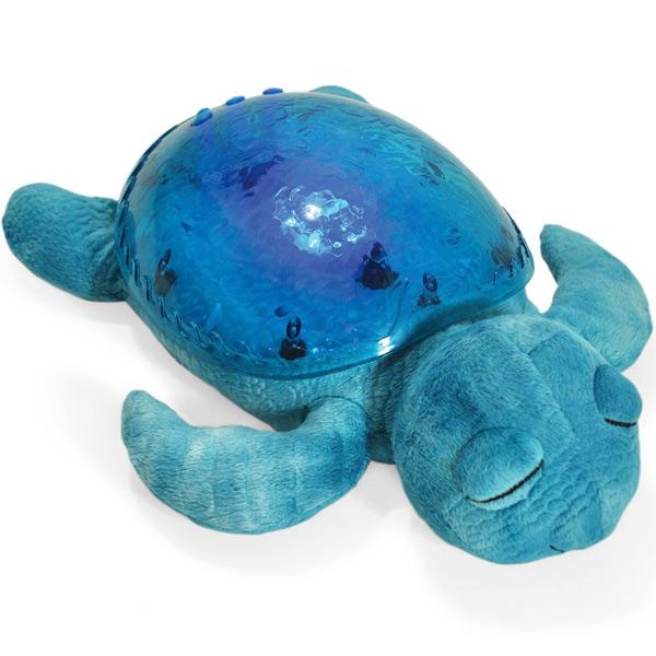 Lampada Notturna Tranquil Turtle Aqua Cloud B