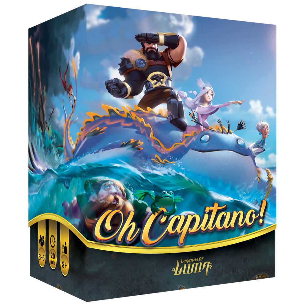 Oh Capitano! Legends of Luma
