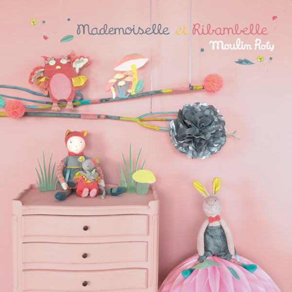 Zainetto Gufo Mademoiselle et Ribambelle Moulin Roty